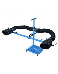 Комплект неопреновых насадок 200x100 мм на стойке под шланг D=100 мм Trommelberg CA90010201D