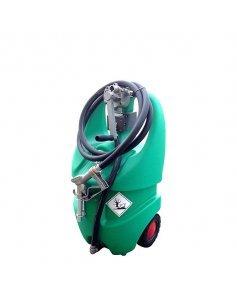 Мобильная АЗС бензиновая с ручным роторным насосом, 55 литров Emiliana Serbatoi EMILCADDY55B1M