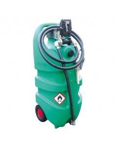 Мобильная АЗС бензиновая с электрическим насосом 12 В, 110 литров Emiliana Serbatoi EMILCADDY110B1EX50ATEX