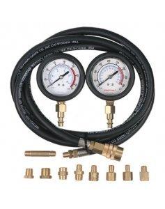 2 манометра для измерения давления масла, 0-7 и 0-28 бар, с комплектом адаптеров МАСТАК 120-20028C