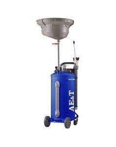 Установка для слива и откачки масла, 76 л, AE&T HC-2185