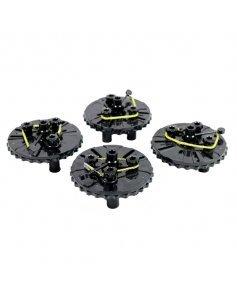 Комплект магнитных колесных адаптеров для стендов развал схождения, 4 шт, Техно Вектор 166 00 000