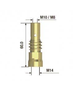 Адаптер контактного наконечника M10x60 мм (5 шт) FUBAG FB.TA.M10.60