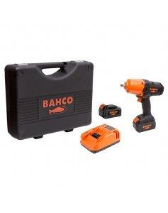 Гайковерт ударный аккумуляторный, квадрат 1/2 дюйма, 1000 Нм, 18 В, комплект, BAHCO BCL33IW2K1