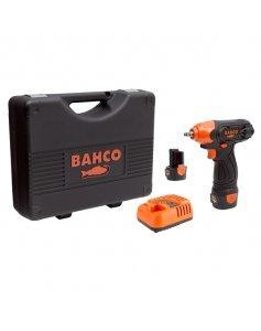 Гайковерт ударный аккумуляторный, квадрат 1/4 дюйма, 105 Нм, 12 В, комплект, BAHCO BCL31IW1K1