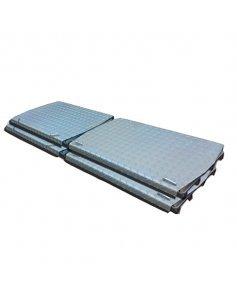 Задние подвижные платформы 4 шт. для стендов развал схождение Техно Вектор 019-03