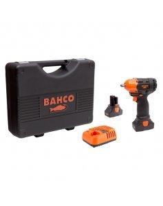 Гайковерт ударный аккумуляторный, квадрат 3/8 дюйма, 390 Нм, 14,4 В, комплект, BAHCO BCL32IW1K1