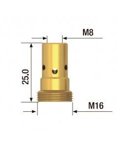 Адаптер контактного наконечника M8x25 мм (5 шт) FUBAG FB.TA.M8.25