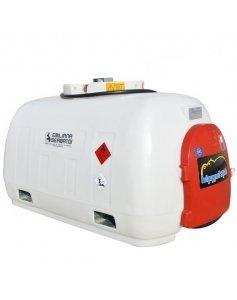 Мини АЗС дизельная с электрическим насосом 12В, 960 л Emiliana Serbatoi Hippotank 960