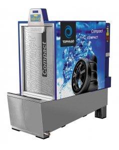 Автоматическая установка для мойки колес без нагрева воды ТОРНАДО COMPACT