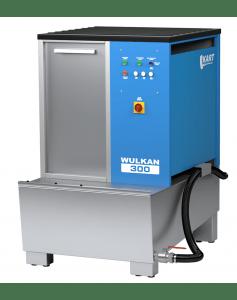 Автоматическая установка для мойки колес гранулами KART WULKAN 300